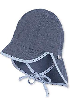 Sterntaler Baby-Jungen Schirmmütze Bindebändern, Nackenschutz und Pünktchenmuster an Rand und Bändern Mütze