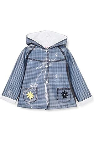 Brums Baby-Mädchen Trench Cerato Vichy Fod.Jersey Regenjacke