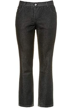 Ulla Popken Damen Sammy, Komfortbund, 5-Pocket Slim Jeans