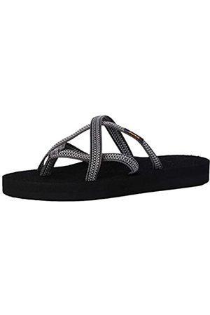 Teva Damen Olowahu Sandal Womens Pantoffeln, (Antiguous Grey Ag Gr)