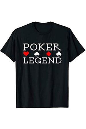 Pokerstar Geschenk für Mann und Frau am Pokertisch Gewinn den Pot mit Pokerkoffer