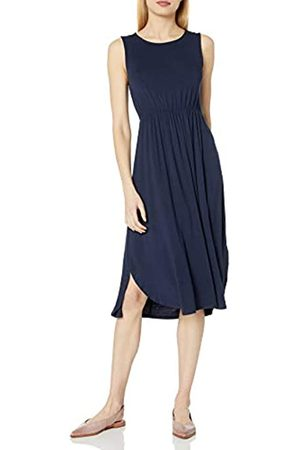 Daily Ritual Amazon-Marke: , Jersey-Damenkleid, ärmellos, gerafft