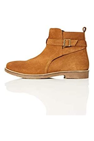 FIND Ethan Jodhpur Chelsea Boots, (Tan)