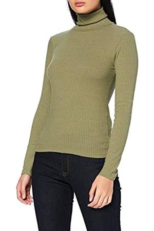 Pieces Damen PCMARIANNE LS Rollneck TOP D2D PB T-Shirt