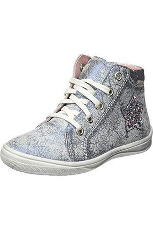 Richter Kinderschuhe Mädchen ReginaS Hohe Sneaker, (Atlantic/Silver 7201)
