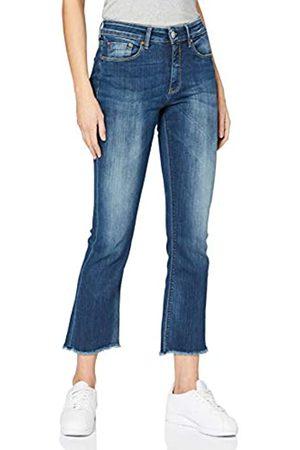 Herrlicher Damen Super G Boot Cropped Denim Powerstretch Bootcut Jeans