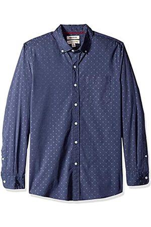 Goodthreads Amazon-Marke - Herren Dobby-Hemd, langärmlig, normale Passform