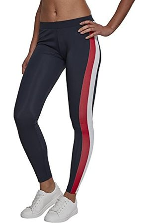 Urban classics Damen Side Stripe Leggings, per pack Mehrfarbig (Nvy/Red/Wht 00858)