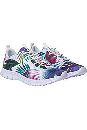 Desigual Damen Shoes (Running Bio PATCHING) Sneaker, (Blanco 1000)