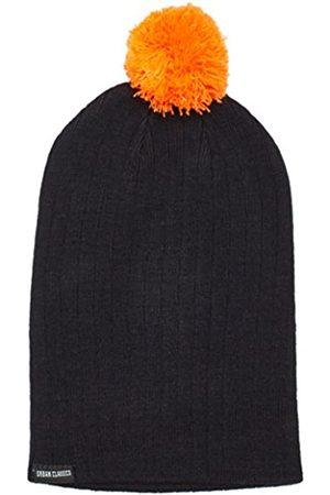 Urban classics Unisex Ohrenschützer Wintermütze Neon Contrast Bobble Beanie mehrfarbig (Black/ ) One Size