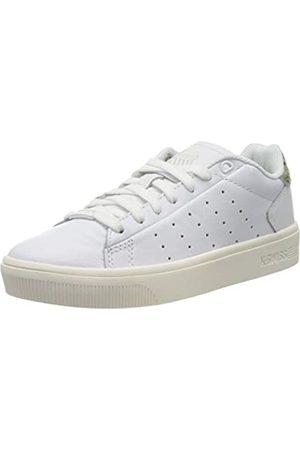 K-Swiss Damen Court Frasco II Sneaker, (Wht/Seafmgrnsnk/Snwht 181)