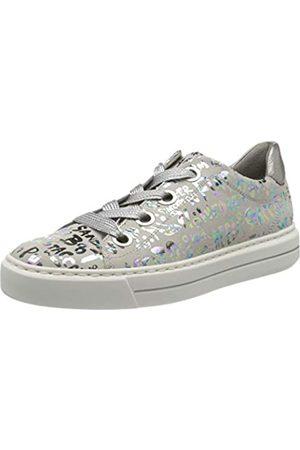 ARA Damen COURTYARD Sneaker, Mehrfarbig (Sasso-Multi, Zinn 14)