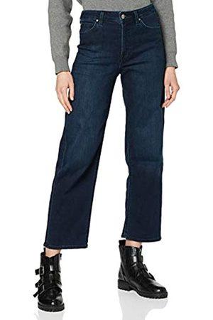 Lee Damen Straight Leg Straight Jeans 5 POCKET WIDE LEG, (Clean Wheaton In)