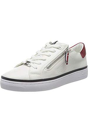 TOM TAILOR Damen 8092605 Sneaker, (White 00002)