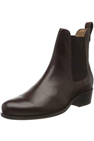 Tom Joule Damen Stamford Chelsea Boots, (Dark Chocolate Dkchoc)