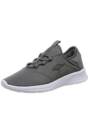 KangaROOS Damen KF-A Suite Sneaker, (Steel Grey 2005)