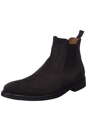 Lottusse Herren L6607 Chelsea Boots, (Buckster Moka)