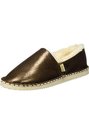 flip*flop Damen Flippadrilla Shiny Slipper, (Brown Sugar 833)