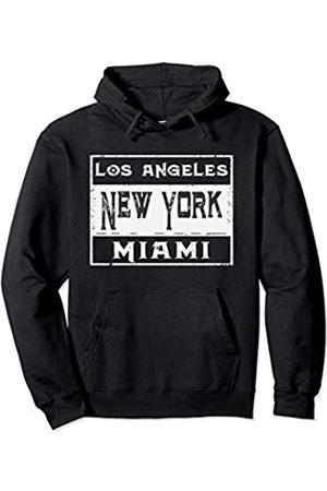 USA stolz Los Angeles New York Miami NY für Männer und Frauen Pullover Hoodie