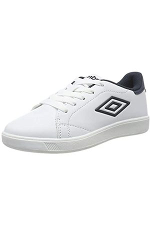 Umbro Jungen Medway 3 Lace Jr Sneakers, (White/Dark Navy P30)