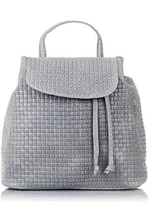 Firenze Artegiani Ledertasche Rucksackhandtaschen Made IN Italy. AUTHENTISCHE ITALIENISCHE Haut 32x32x16 cm. Farbe: Klar