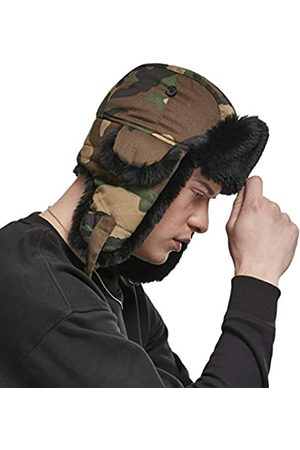 Urban classics Unisex Mütze Printed Trapper Hat Fell-Mütze in Camouflage-Optik