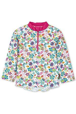 Sterntaler Baby-Girls Langarm-Schwimmshirt Rash Guard Shirt, Weiss