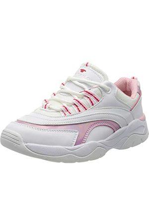 TOM TAILOR Mädchen 8070506 Sneaker, Mehrfarbig (White-Rose 00177)