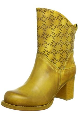 Yellow Cab Damen Harvey Stiefel & Stiefeletten, (Yellow)