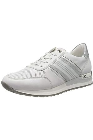 Remonte Damen R2510 Sneaker, (Hartweiss/Argento 80)