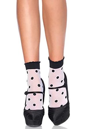 Leg Avenue Damen Spots and Dots Socken
