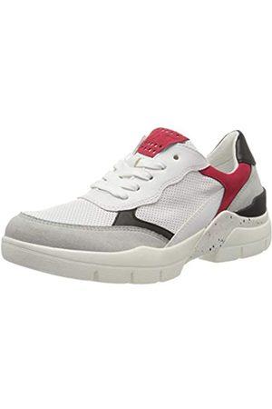 Marco Tozzi Damen 2-2-23712-34 Sneaker, Mehrfarbig (White/Red 165)
