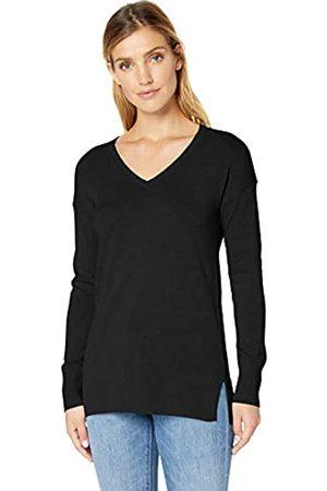 Amazon Damen-Tunika/Sweatshirt mit V-Ausschnitt, leicht