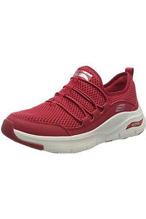 Skechers Damen Arch FIT Sneaker, (RED RED)