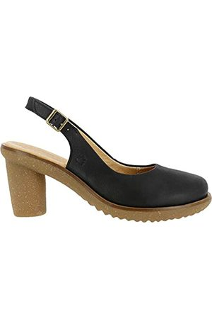 El Naturalista Damen N5155 Pleasant Trivia Pumps, (Black Black)
