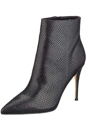 Guess Damen Olanes/Shootie (Ankle Boot)/l Kurzschaft Stiefel, (Black Black)