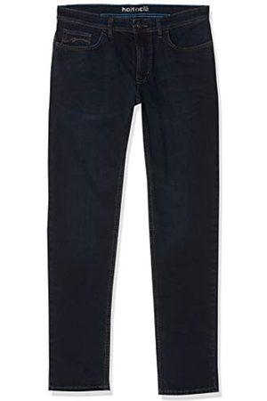 Hattric Herren Jeans Five Pocket Modell Hunter Stretch 688525, blueblack