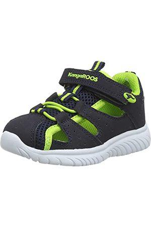 KangaROOS Unisex Baby KI-Rock Lite EV Sneaker, (Dk Navy/Lime 4054)