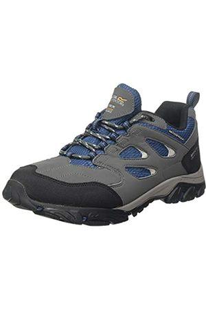 Regatta Herren Holcombe Iep Low Rise Hiking Boot Trekking- & Wanderhalbschuhe, (Granite/Blue Wing Qy4)