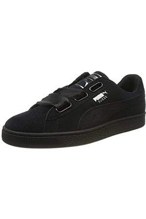 Puma Damen WNS Suede Heart Pebble Sneaker, (Black 365210-04)