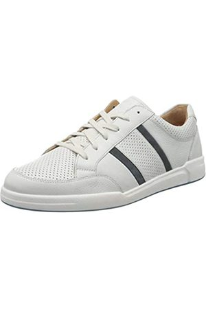 Ganter Herren Hadrian-H Sneaker, (Weiss/Blue 0232)
