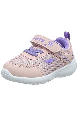 KangaROOS Unisex Baby KC-Flight EV Sneaker, (Frost Pink/Lavender 6014)