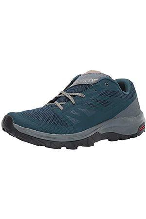 Salomon Herren Shoes Outline Trekking-& Wanderhalbschuhe, Mehrfarbig (Reflektierender Teich/Stürmisches Wetter/Vint)