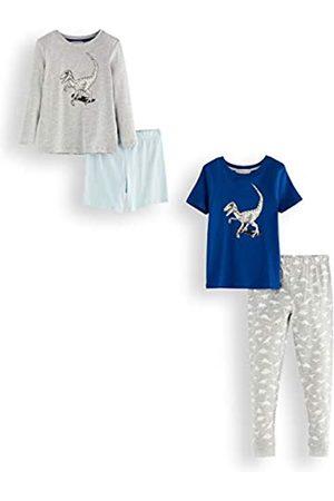 RED WAGON Amazon-Marke: Jungen Pyjama-Set aus Baumwolle, 2er-Pack, 140
