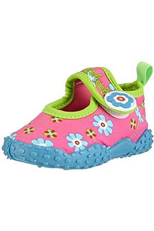 Playshoes Badeschuhe Blumen mit höchstem UV-Schutz nach Standard 801 174759, Mädchen Aqua Schuhe, Pink (original 900)