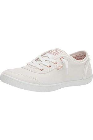 Skechers Damen Bobs B Cute Sneaker, (White Canvas Wht)