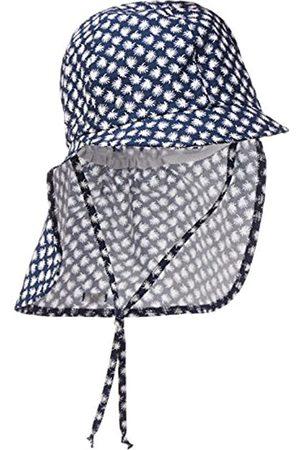 maximo Mädchen Schildmütze, Nackenschutz, Bindeband Mütze