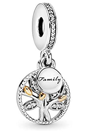 PANDORA Moments Sparkling Family Tree Charm-Anhänger Sterling