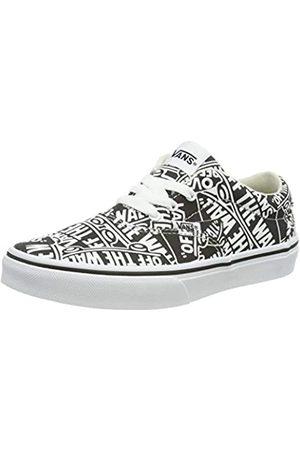 Vans Jungen Doheny Sneaker, Mehrfarbig ((OTW Repeat) Black/White Uz9)