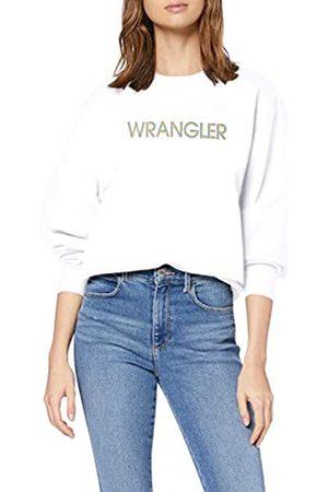 Wrangler Damen HIGH Rib Retro Sweat Sweatshirt